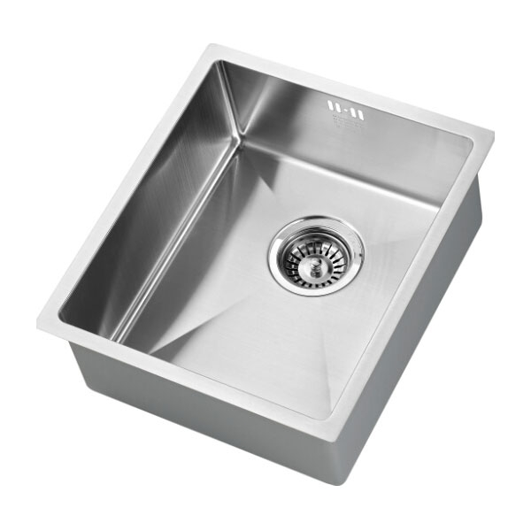 The 1810 Company Zenuno15 340U 1.0 Bowl Kitchen Sink - Stainless Steel