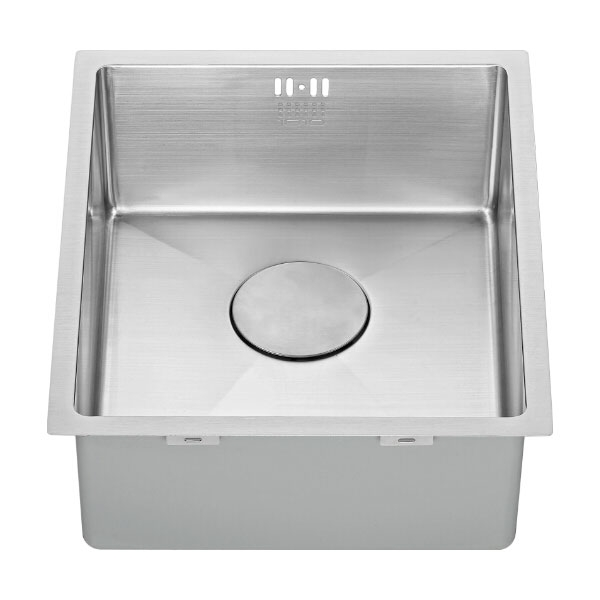 The 1810 Company Zenuno15 340U 1.0 Bowl Kitchen Sink - Stainless Steel-1