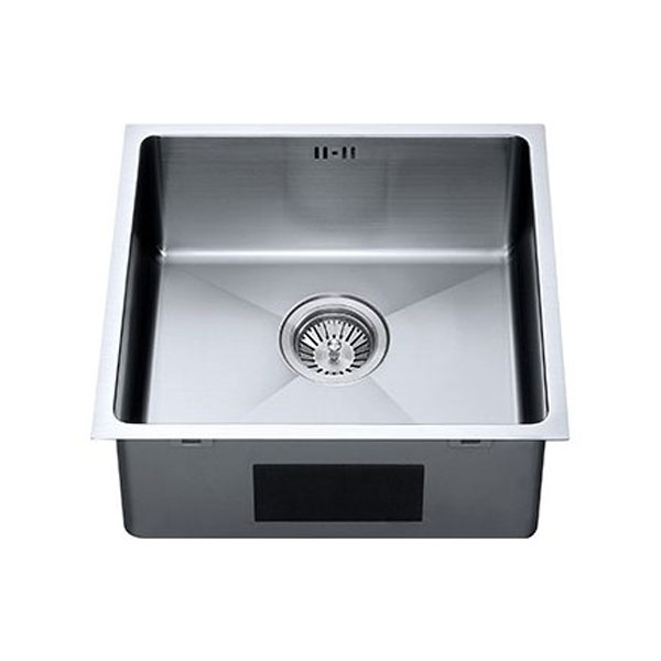 The 1810 Company Zenuno15 400U 1.0 Bowl Kitchen Sink - Gun Metal Finish-0