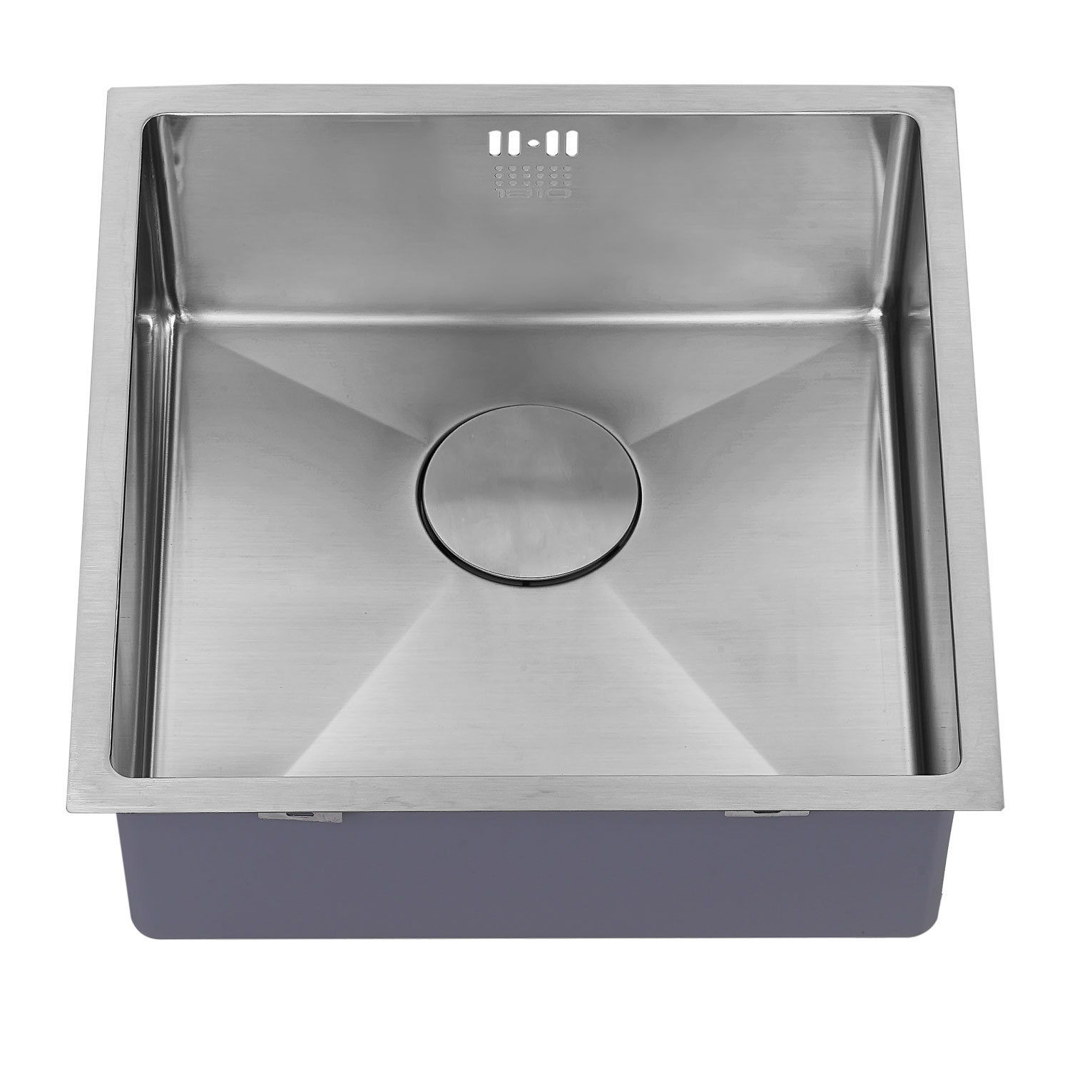 The 1810 Company Zenuno15 400U 1.0 Bowl Kitchen Sink - Stainless Steel