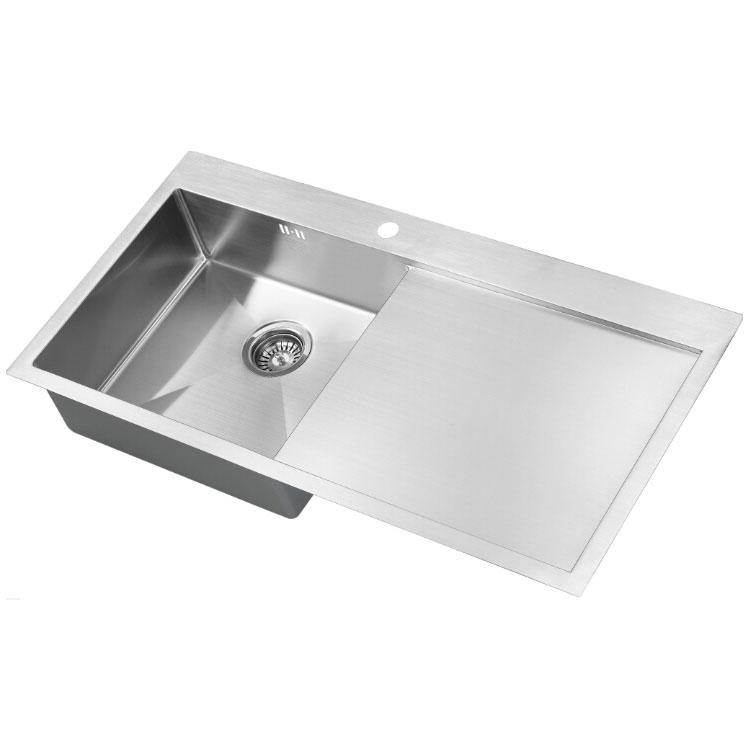 The 1810 Company Zenuno15 5 I-F 1.0 Bowl Kitchen Sink - Left Handed-0