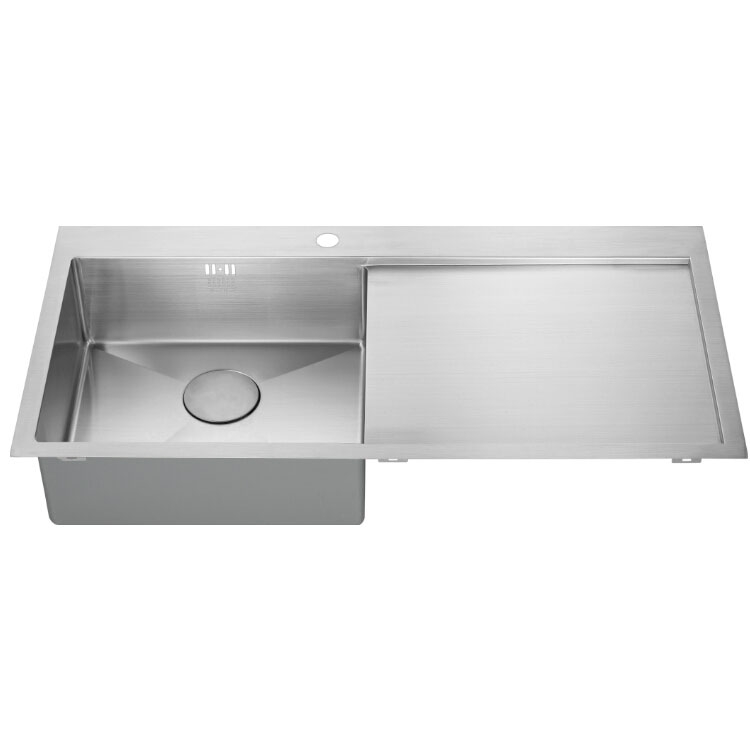 The 1810 Company Zenuno15 5 I-F 1.0 Bowl Kitchen Sink - Left Handed-1