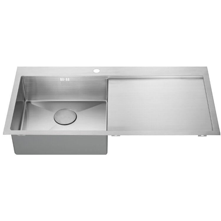 The 1810 Company Zenuno15 5 I-F 1.0 Bowl Kitchen Sink - Left Handed-1