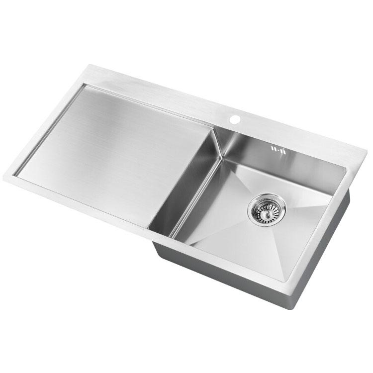 The 1810 Company Zenuno15 5 I-F 1.0 Bowl Kitchen Sink - Right Handed-0