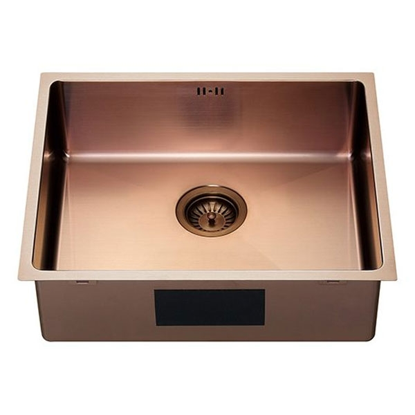 The 1810 Company Zenuno15 500U 1.0 Bowl Kitchen Sink - Copper Finish-0