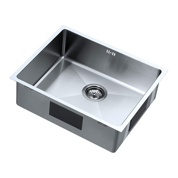 The 1810 Company Zenuno15 500U 1.0 Bowl Kitchen Sink - Gun Metal Finish-0