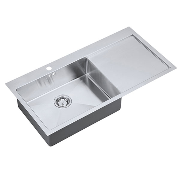 The 1810 Company Zenuno15 55 I-F 1.0 Bowl Kitchen Sink - Left Handed-0