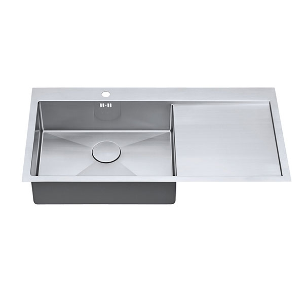 The 1810 Company Zenuno15 55 I-F 1.0 Bowl Kitchen Sink - Left Handed-1