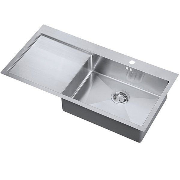 The 1810 Company Zenuno15 55 I-F 1.0 Bowl Kitchen Sink - Right Handed-0