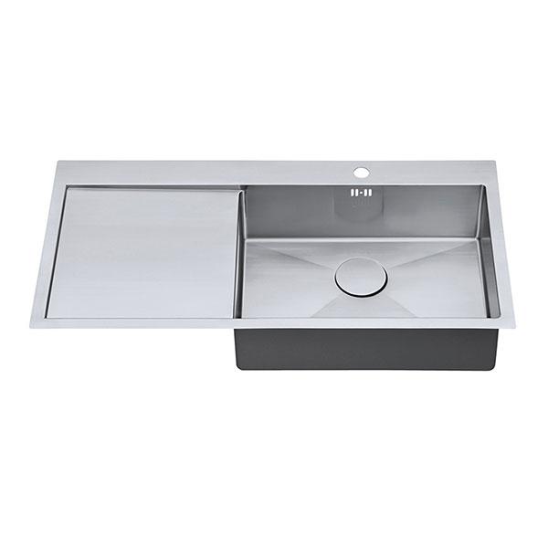 The 1810 Company Zenuno15 55 I-F 1.0 Bowl Kitchen Sink - Right Hand Bowl-1