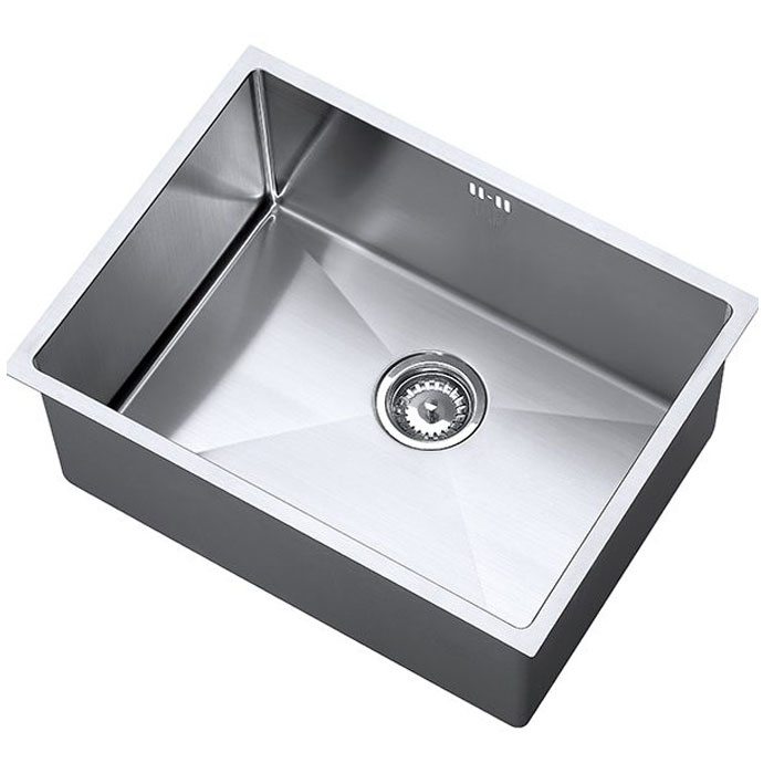 The 1810 Company Zenuno15 550U Deep 1.0 Bowl Kitchen Sink - Stainless Steel