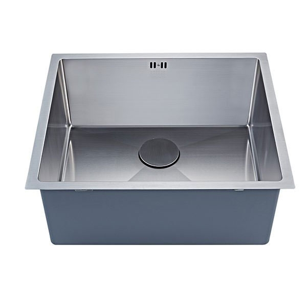 The 1810 Company Zenuno15 550U XXL Deep 1.0 Bowl Kitchen Sink - Stainless Steel-1