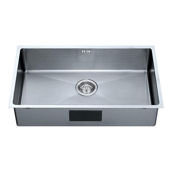 The 1810 Company Zenuno15 700U 1.0 Bowl Kitchen Sink - Gun Metal Finish-1