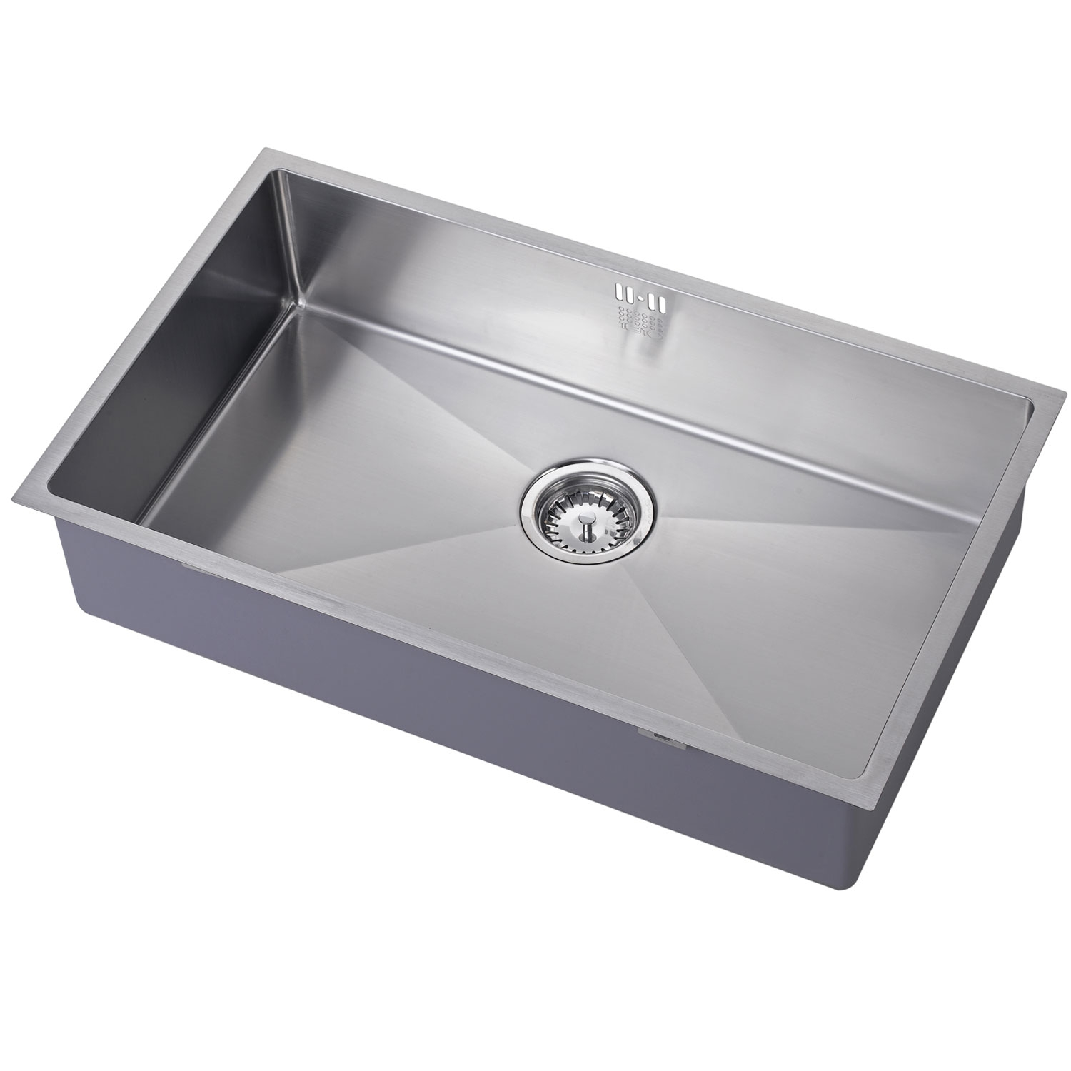 The 1810 Company Zenuno15 700U 1.0 Bowl Kitchen Sink - Stainless Steel