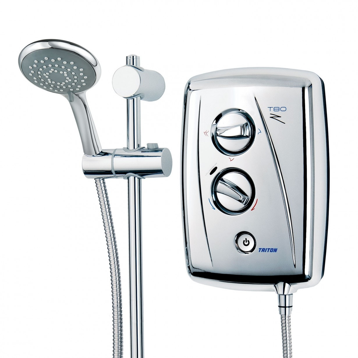 Triton T80Z Fast Fit Electric Shower 10.5KW - Chrome