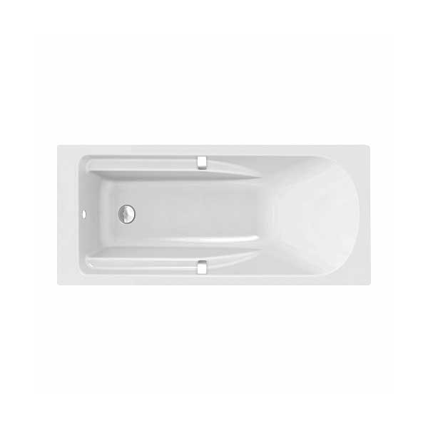 Twyford All Single Ended Rectangular Bath Cover Grips 1700mm x 750mm 0 Tap Hole