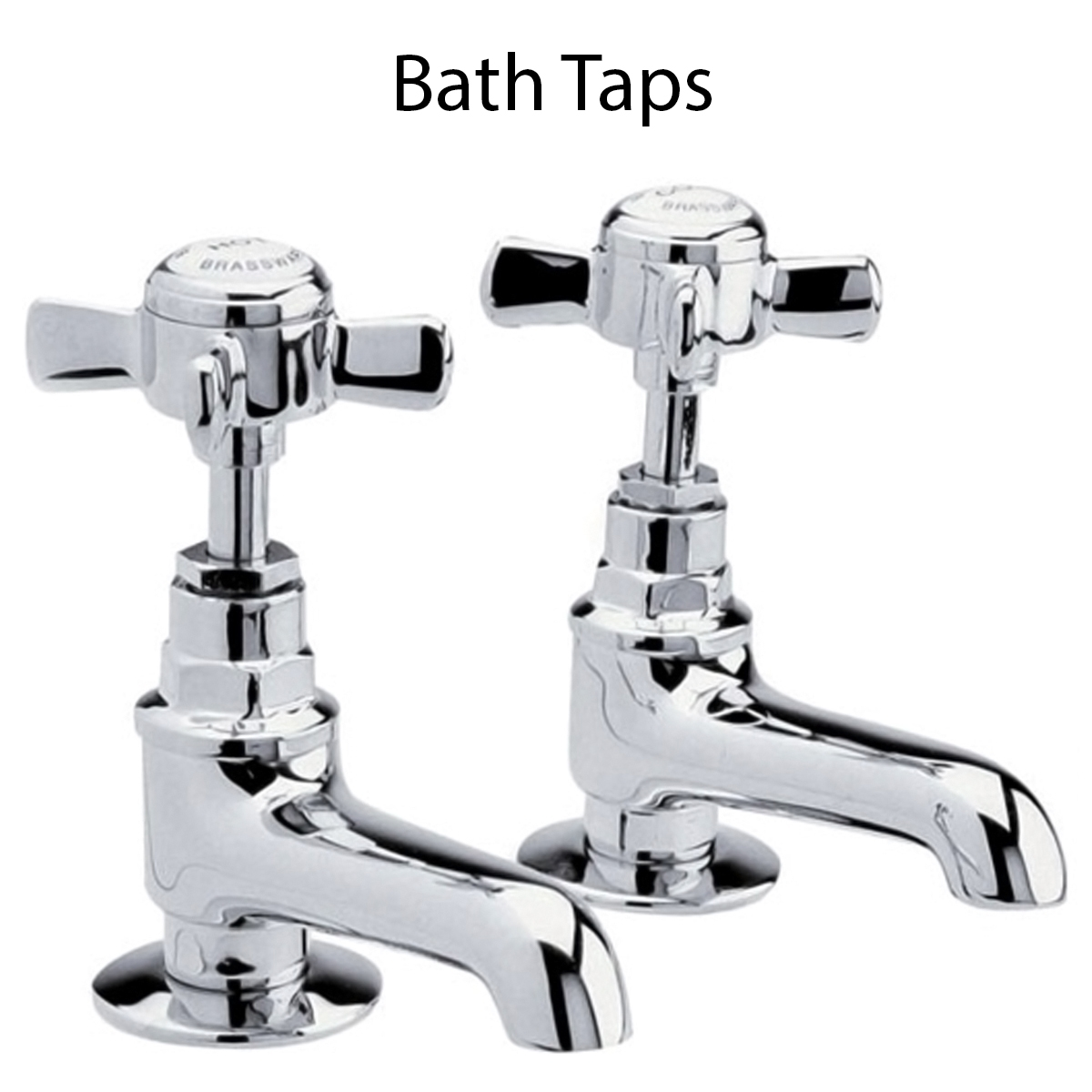 Ultra Beaumont Basin Taps and Bath Taps, Chrome