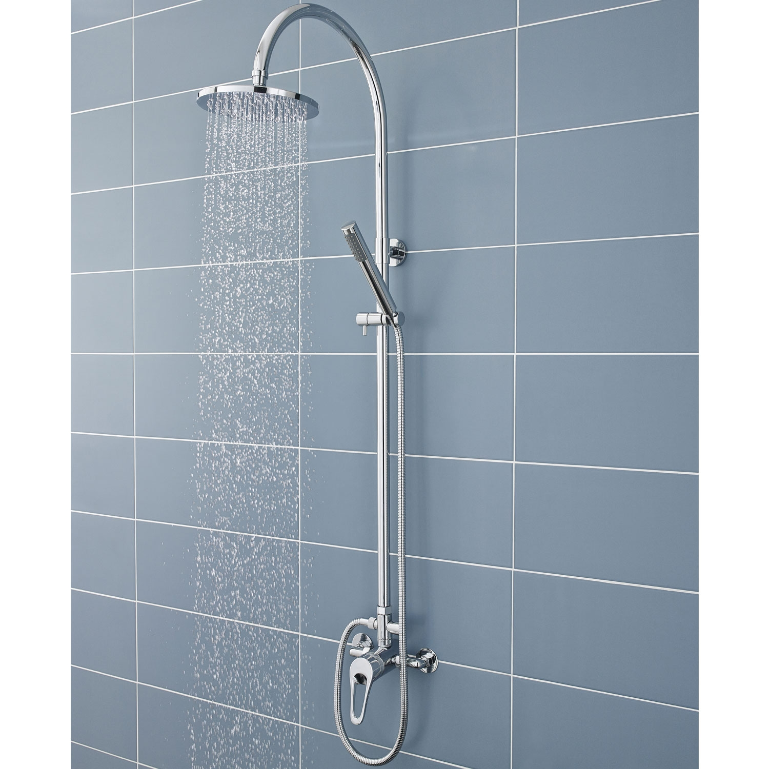 Ultra Ocean Manual Exposed Shower Valve Single Handle - Chrome