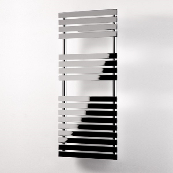 Ultraheat Poplar Flat Bar Heated Towel Rail, 788mm H x 500mm W, 406 Watts, Chrome-0