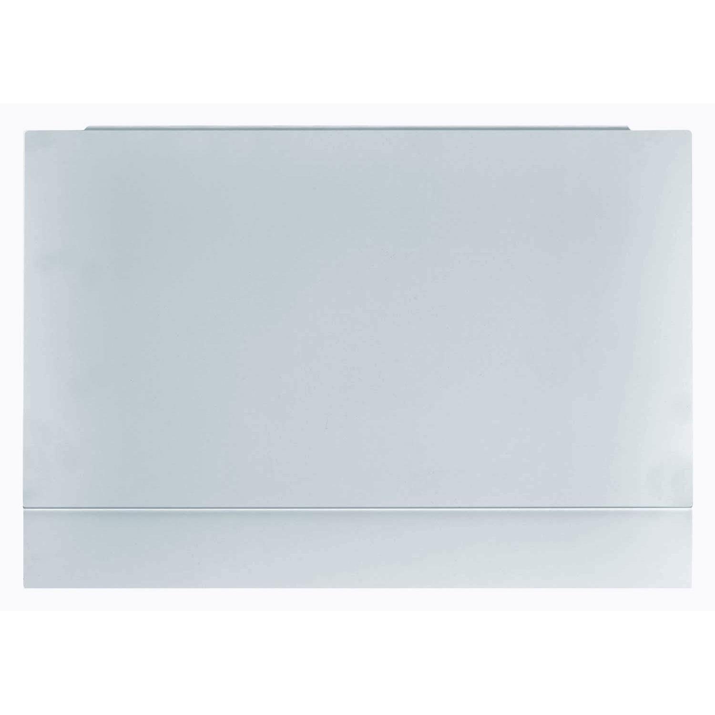 Verona Aquapure MDF End Bath Panel 450mm H x 700mm W - Pearl Grey