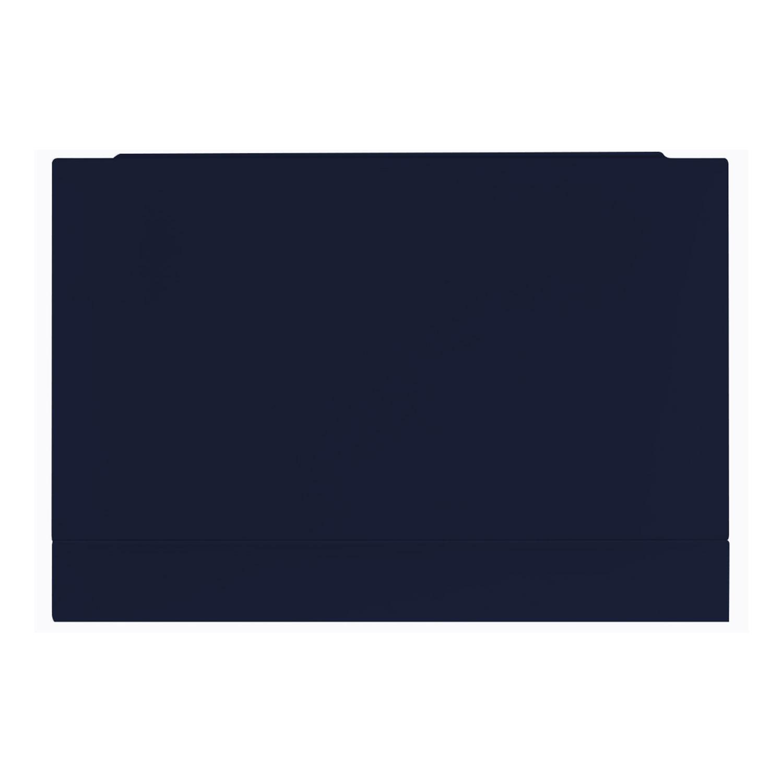 Verona Aquapure 700mm Wide Wooden End Bath Panel - Matt Indigo