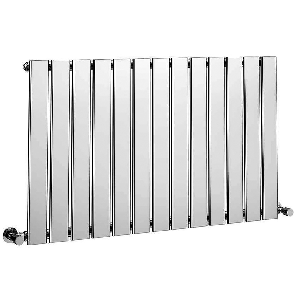 Verona Bellisi Designer Horizontal Radiator 600mm H x 984mm W - Chrome