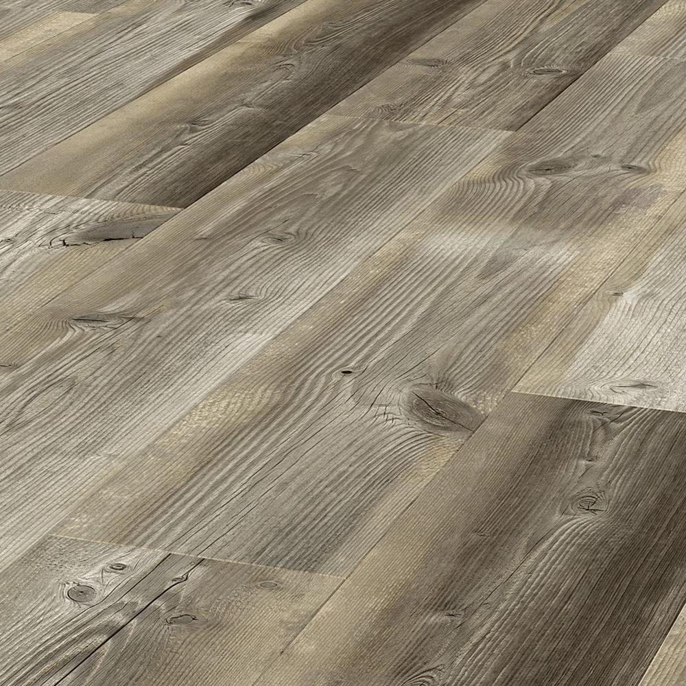 Verona Helsinki Water and Stain Resistant Floor Paneling Pack of 9 - Brown