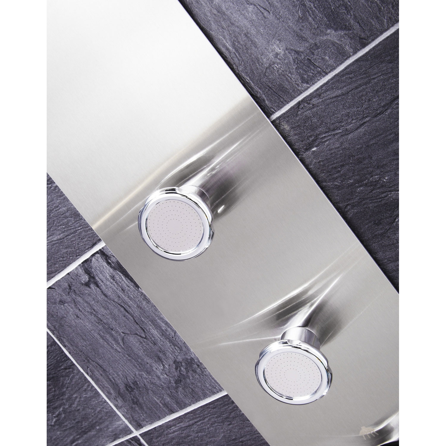 Verona Modique Shower Panel 3 Round Body Jets with Shower Hand-0