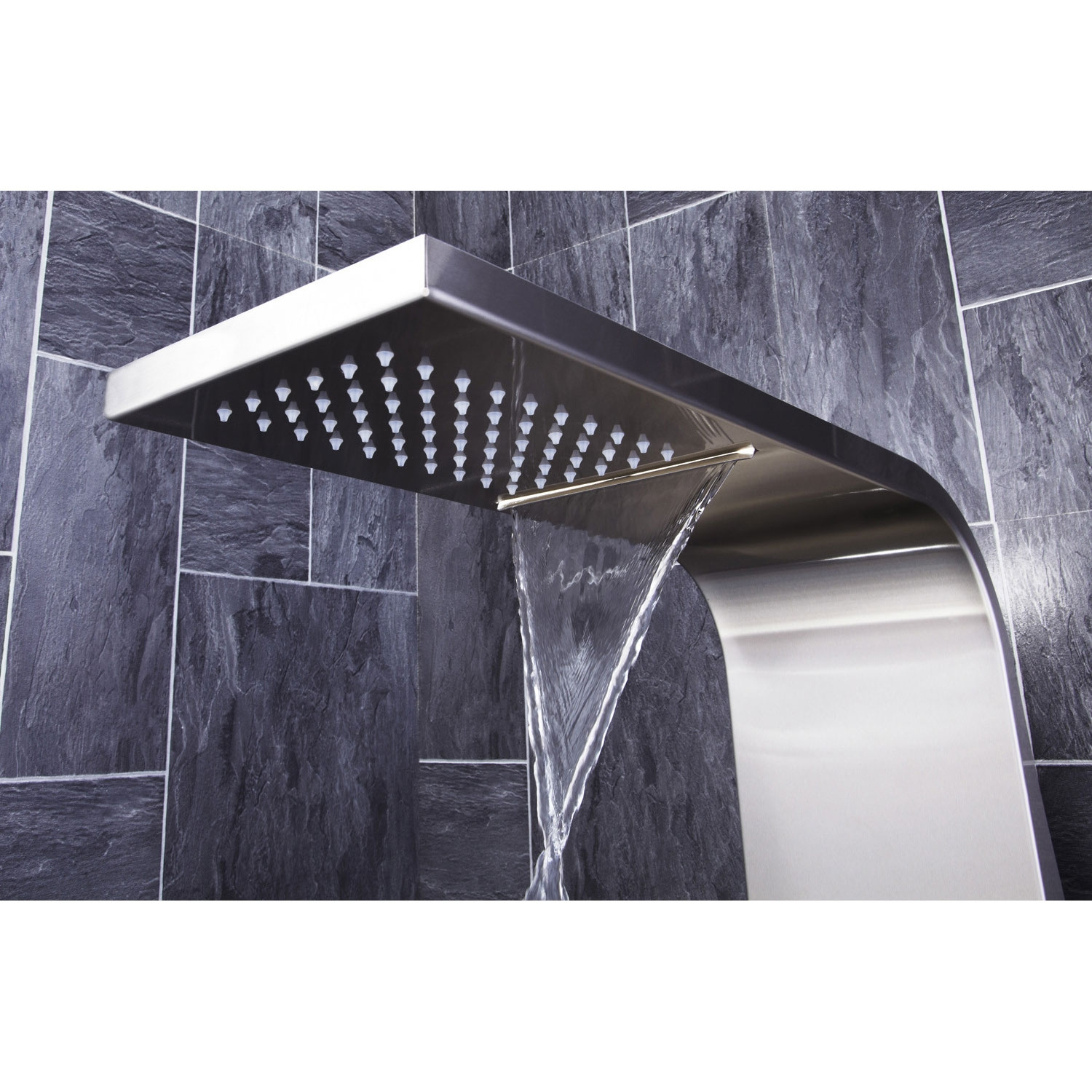 Verona Modo Thermostatic Shower Panel 2 Built-in Body Jets with Shower Hand-3