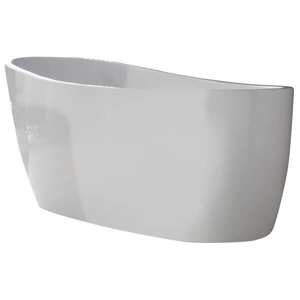 Verona Pano Freestanding Slipper Bath 1795mm x 800mm  - White-3