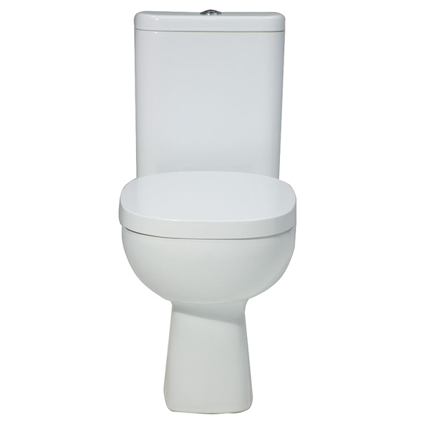 Verona Petit 2 Close Coupled Toilet WC Push Button Cistern - Standard Seat
