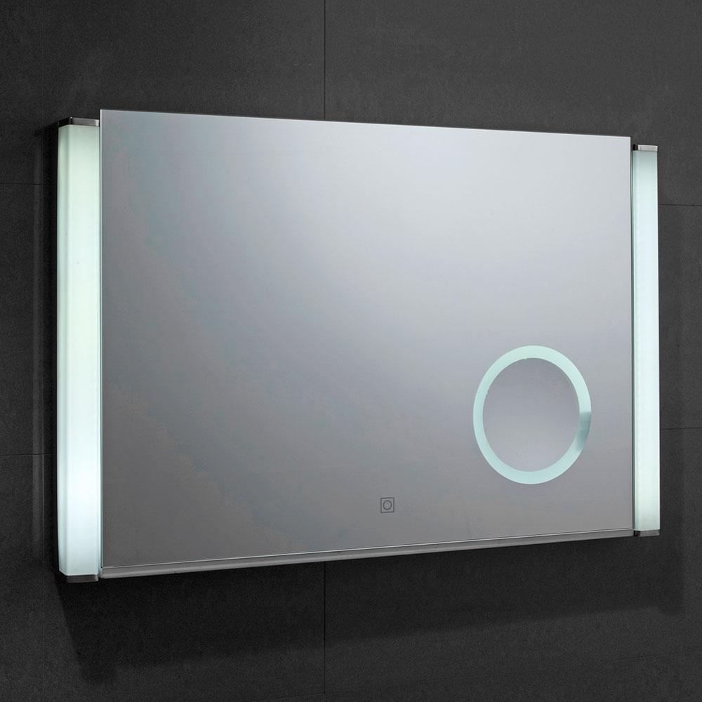 Verona Reflection Bathroom Mirror 500mm H x 775mm W LED Illuminated