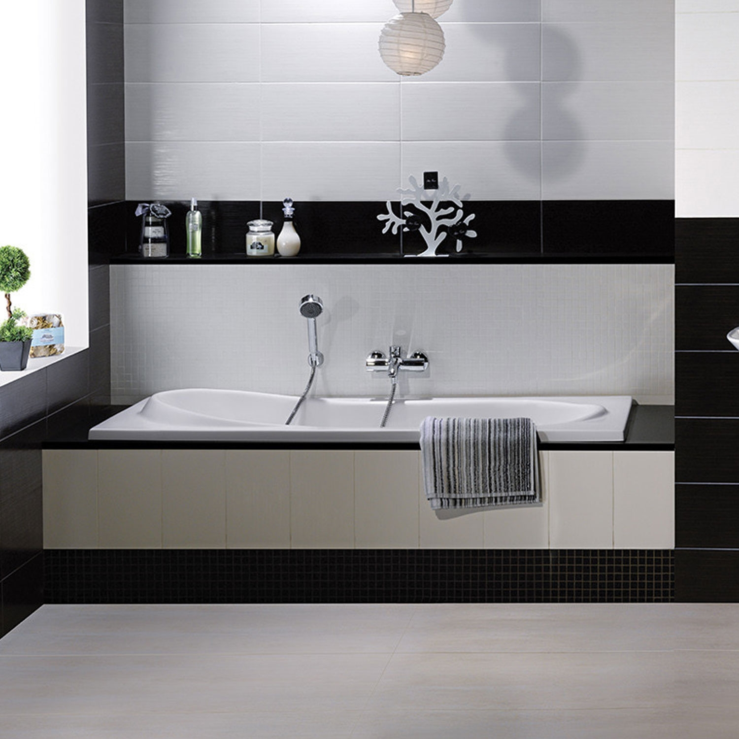 Verona Reserva Single Ended Rectangular Bath 1700mm x 800mm - 0 Tap Hole-0