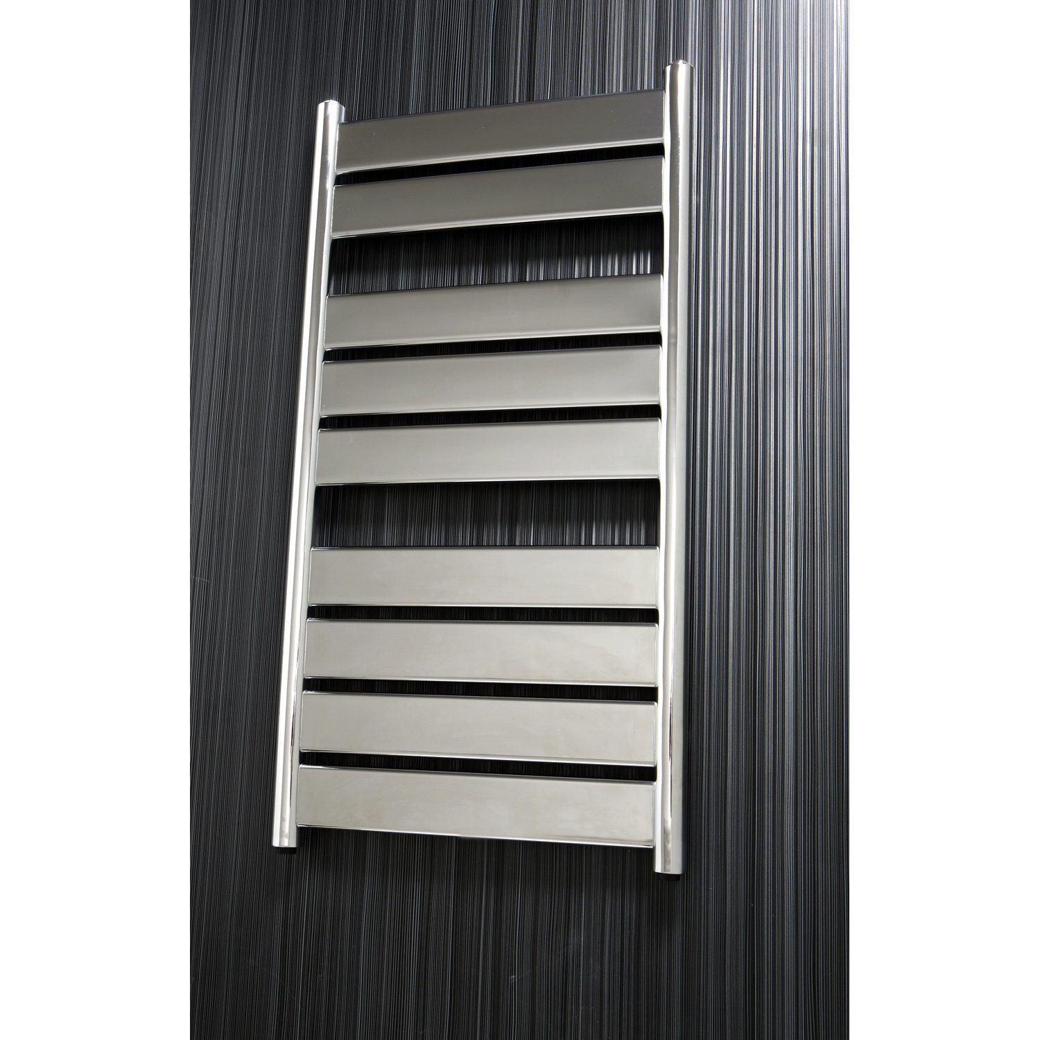 Verona Riva Designer Heated Towel Rail 1300mm H x 500mm W - Chrome
