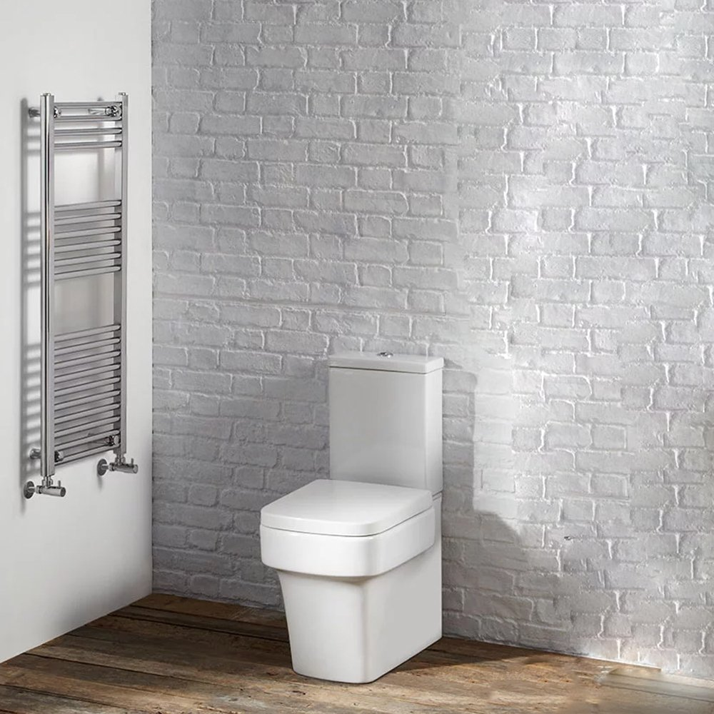 Verona Strada Gloss White Complete Bathroom Cloakroom Suite Package