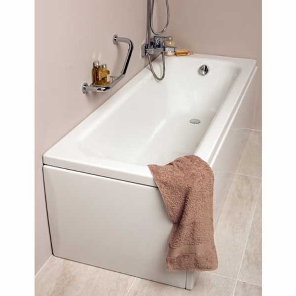 VitrA Balance Single Ended Rectangular Bath 1700mm x 700mm 0 Tap Hole
