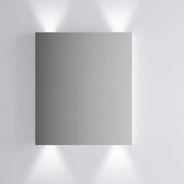 Vitra Brite Illuminated Bathroom Mirror 700mm H x 600mm W