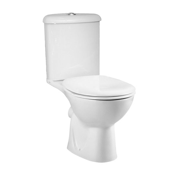 VitrA Layton Cloakroom Suite Toilet and 450mm 1 Tap Hole Basin-0