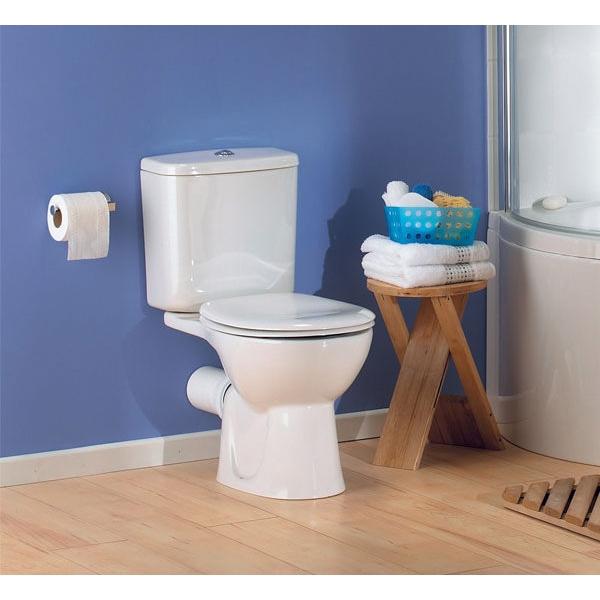VitrA Layton Value Suite Close Coupled Toilet 2 Tap Hole Basin-2