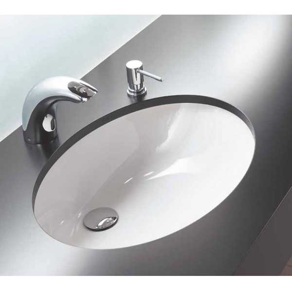 Vitra S20 Compact Under-Counter Basin 520mm Wide 0 Tap Hole-0