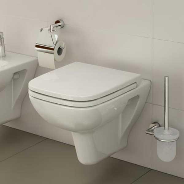 VitrA S20 Wall Hung Toilet WC - Soft Close Seat-0