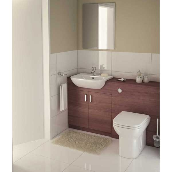 VitrA S20 Back to Wall Toilet WC - Standard Seat-0