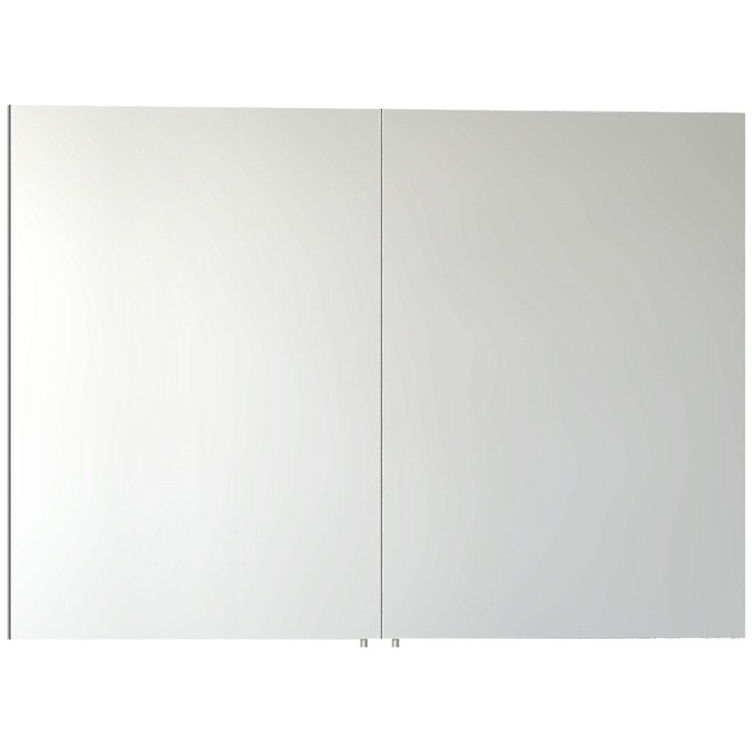 VitrA S50 Mirror Cabinet 1000mm W White-0