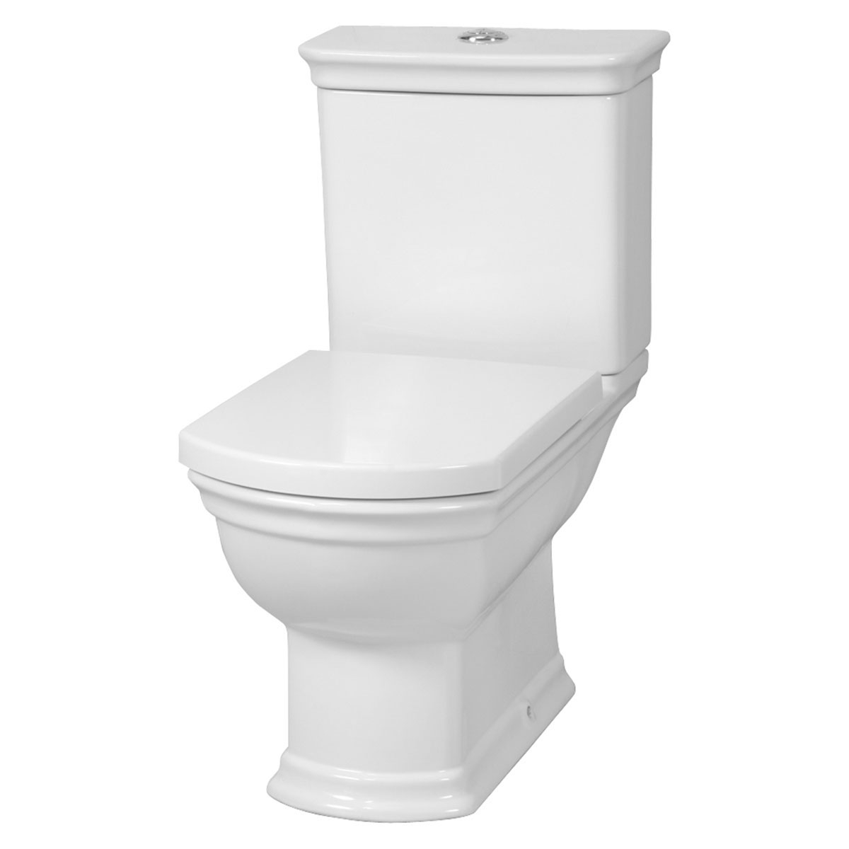 VitrA Serenada Value Suite Close Coupled Toilet 2 Tap Hole Basin-2