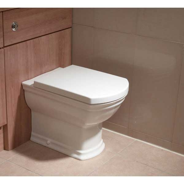 VitrA Serenada Back to Wall Toilet WC - Soft Close Seat
