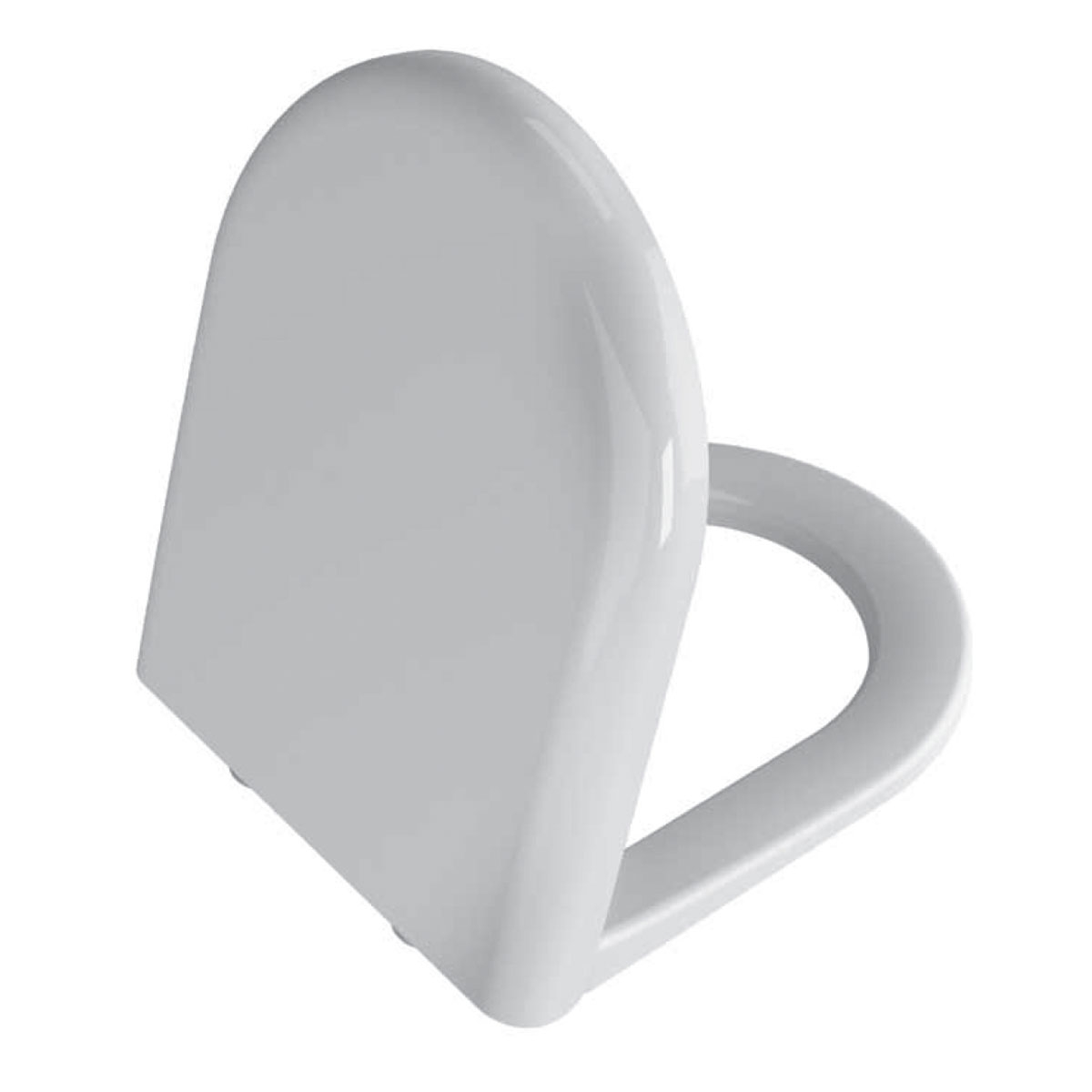 VitrA Zentrum Bathroom Cloakroom Suite Close Coupled Toilet 1 Tap Hole Basin - Soft Close Seat-2