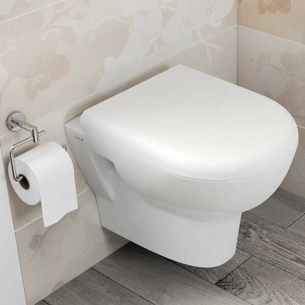VitrA Zentrum Wall Hung Toilet WC - Standard Seat-0