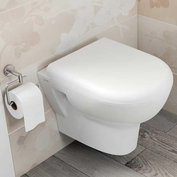 VitrA Zentrum Wall Hung Toilet WC - Soft Close Seat-0