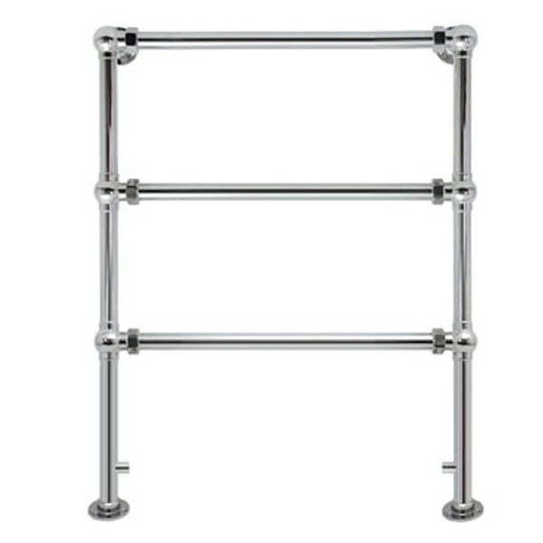 Vogue Grandeur Traditional Heated Towel Rail 943mm H x 686mm W Central Heating