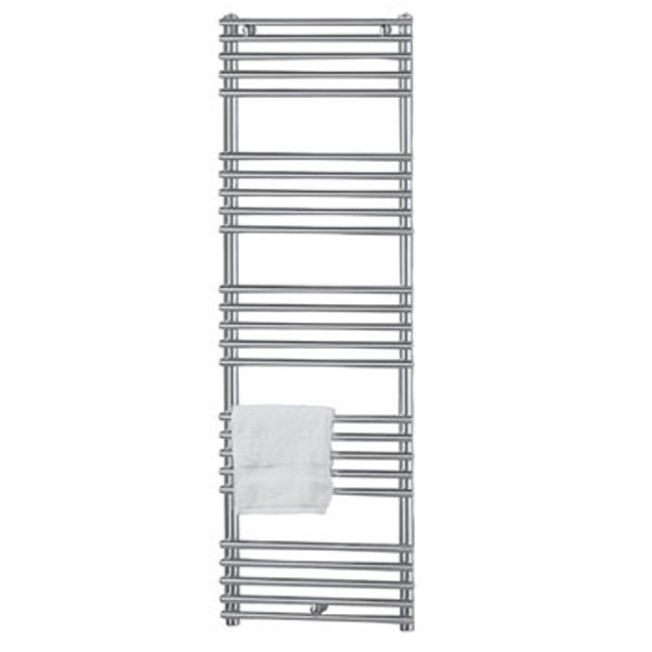 Vogue Tune Heated Towel Rail 1186mm H x 600mm W Central Heating